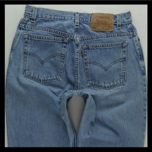 Vintage Levi's 550 Mom Jeans 12 Misses Long #1008